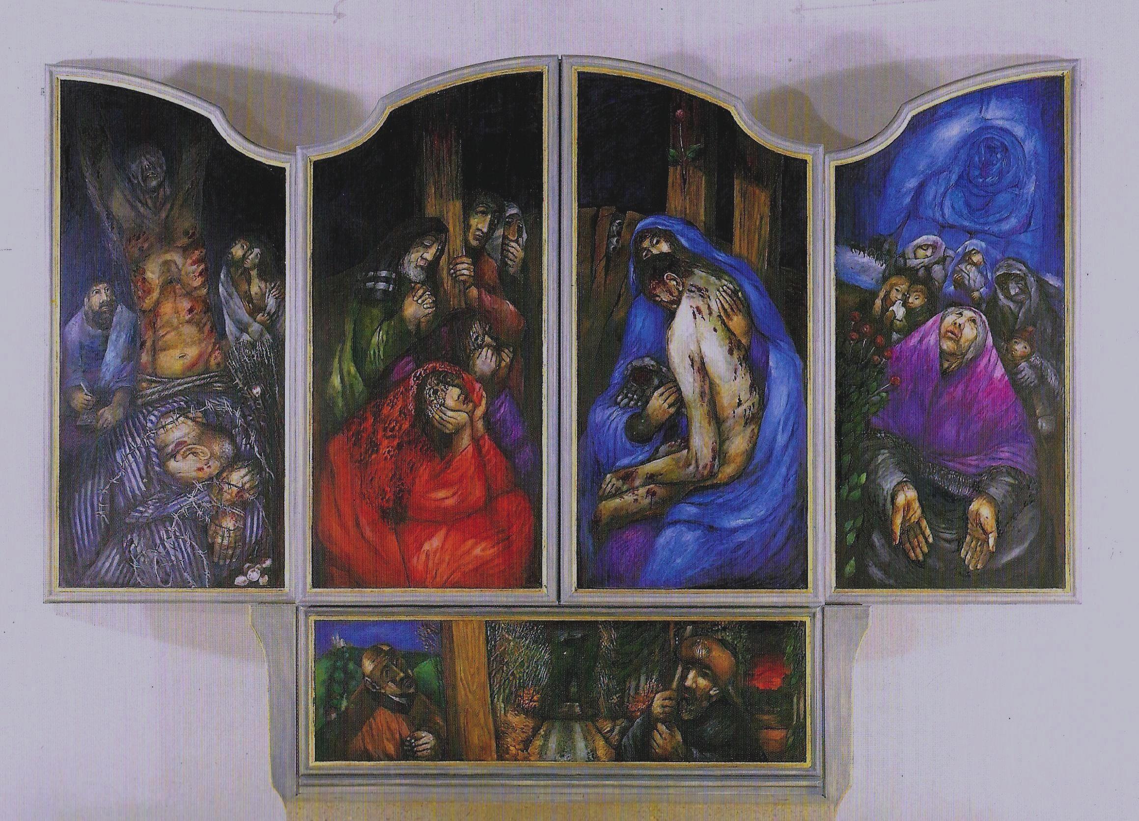 Kolpingsfamilie Rosenberger Altar Ansicht