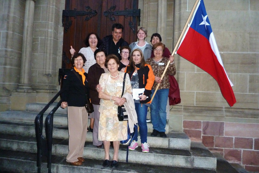 Kolpingsfamilie Chilebesuch Kirche