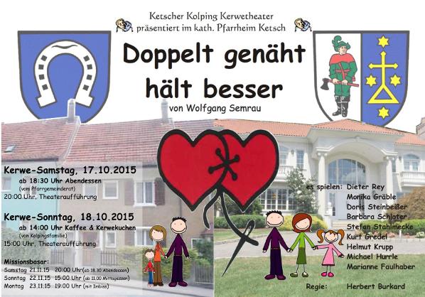 Kerwetheater 2015 Plakat